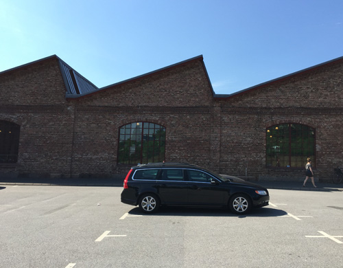 2016 - My Volvo V70 at Åhaga in Borås