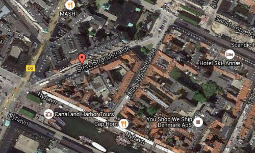 2016 - Store Strandstræde in Copenhagen Maps02