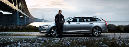 2016 - Volvo V90 with Zlatan
