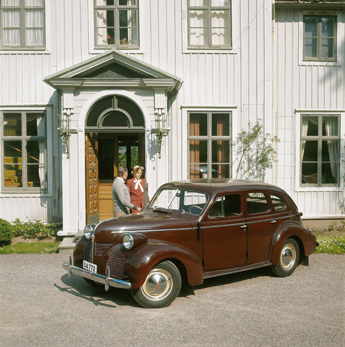 1947 - Volvo PV60 (photo from 1973)