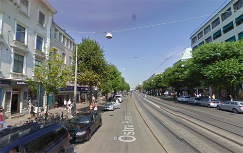 2009 - Östra Hamngatan in Göteborg (Google Streetview)