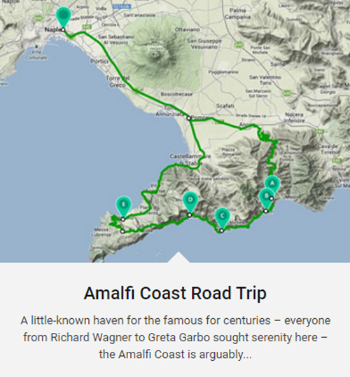 2016 - Amalfi Coast Road Trip (http://magazine.enterprise.co.uk/open-road/road-trip)