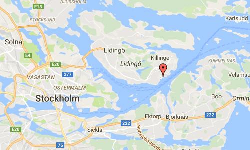 2016 - Klövervägen Lidingö Maps01