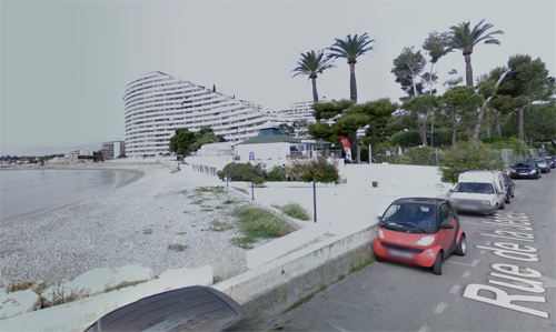 2016 - Marina Baie des Anges, seen from Rue de la Jetée in Villeneuve-Loubet France (Google Streetview)