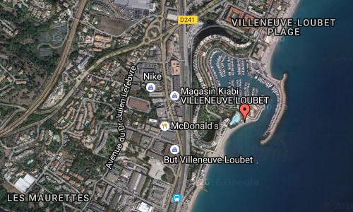 2016 - Marina Baie des Anges in in Villeneuve-Loubet maps02
