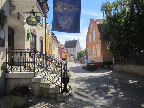 2016 - Strandgatan near Kompanigränd in Visby on Gotland, Sweden (Own photo)