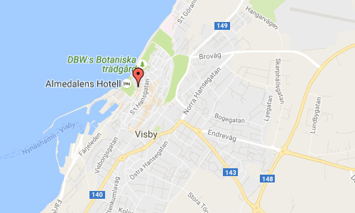 2016 - Strandgatan2 in Visby Gotland Maps01