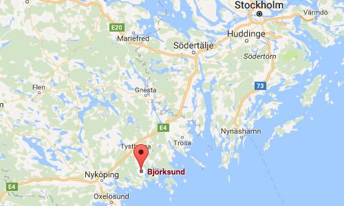 2016 - Björksund Slott in Tystberga Maps01