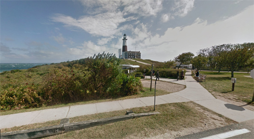2016 - Montauk Point Lighthouse on Montauk Point near East Hampton on Long Island, New York, USA. (Google Streetview)