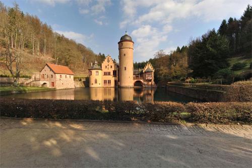 2016 - Schloss Mespelbrunn in Mespelbrunn, Germany