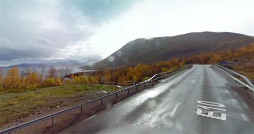 2016 - Bridge on E10 near Silverfallet in Björkliden (Google Streetview)
