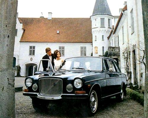 1968 - Volvo 164 at Bosjökloster in Höör, Skåne.