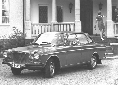 1969 - Volvo 164 at Ingareds gård in Ingared near Alingsås