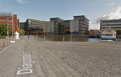 2016 - Diagonalen in Göteborg (Google Streetview)