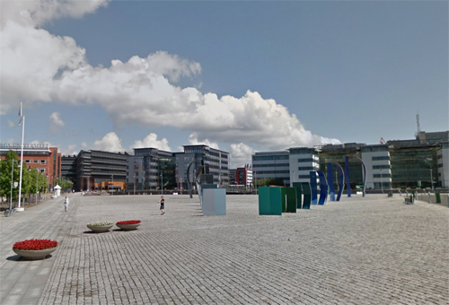 2016 - Di-edersekvensen at Diagonalen on Lindholmen in Göteborg (Google Streetview)