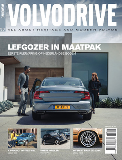 2016 - Cover of 2016 - 33 edition of Volvodrive from The Netherlands