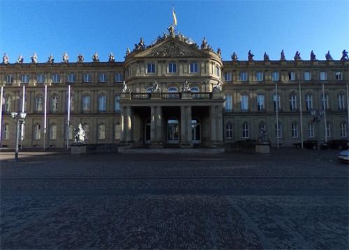 2016 - Das Neues Schloss in Stuttgart (Google Streetview)