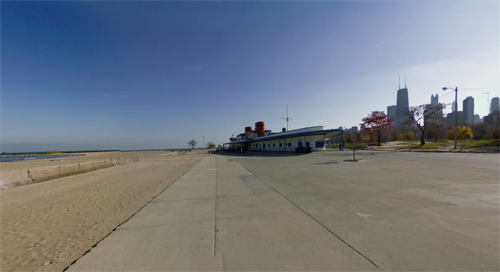 2016 - North Avenue Beach in Chicago - USA (Google Streetview)
