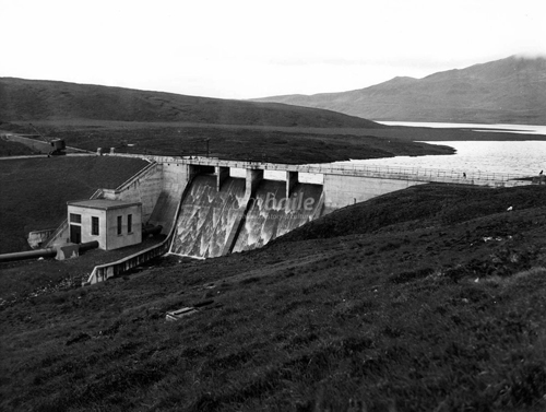 2016 - Loch Leathan Dam near Portee on Skye, UK