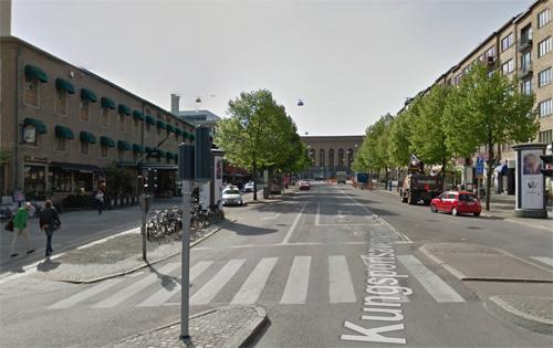 2016 - Kungsportsavenyen in Göteborg (Google Streetview)