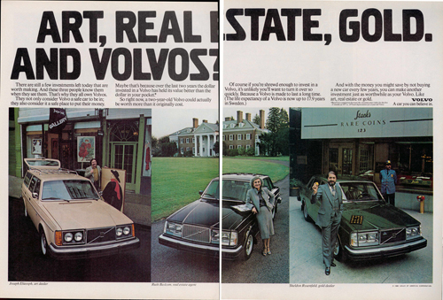 1980 - Volvo 200 series USA Advertisement