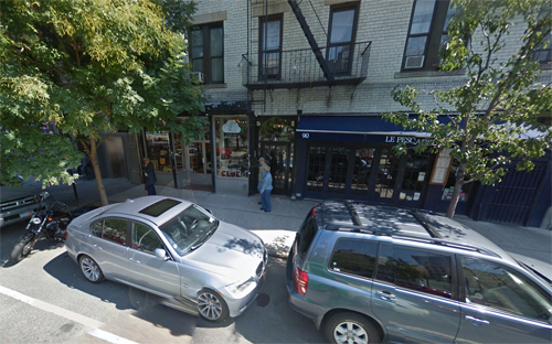 2014 - 92 Thompson St in SoHo in Lower Manhattan in New York (Google Streetview)