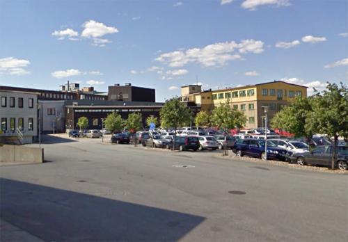 2017 - The black building Byfogdegatan 3 in Gamlastaden in Göteborg (Google Streetview)