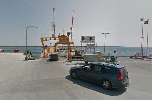 2017 - Entry on Bodilla ferry at Fårösund (Google Streetview)