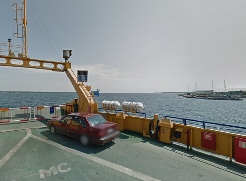 2017 - Nina ferry at Fårösund (Google Streetview)