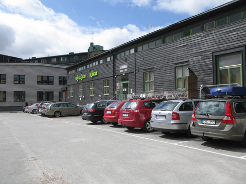 2017 - Nostalgicum museum on Byfogdegatan 3 in Gamlastaden in Göteborg