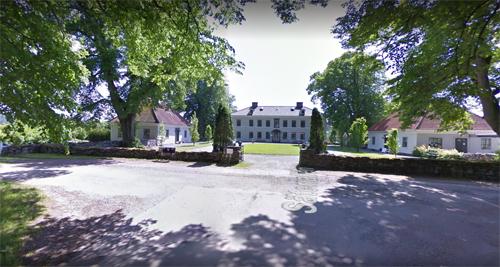 2017 - Råda säteri on  Säteriallén in Mölnlycke (Google Streetview)