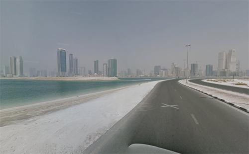 Al Mamzar Beach In Sharjah Uae Guidof